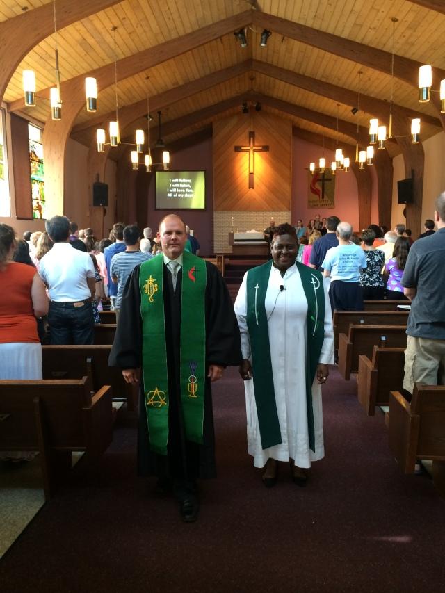 Pastor Danita & me